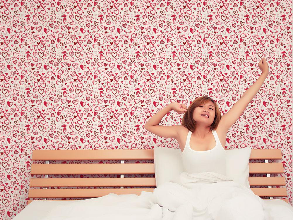 Cuori cartadaparatipersonalizzata - Crea la tua camera da letto ...
