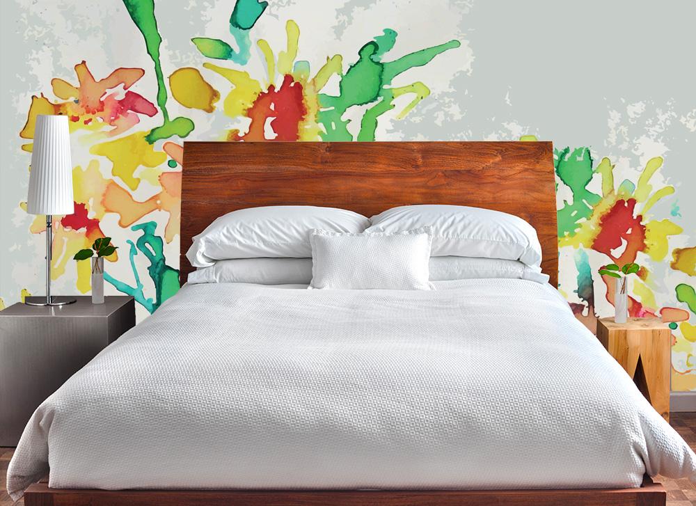 Fiori cartadaparatipersonalizzata - Crea la tua camera da letto ...