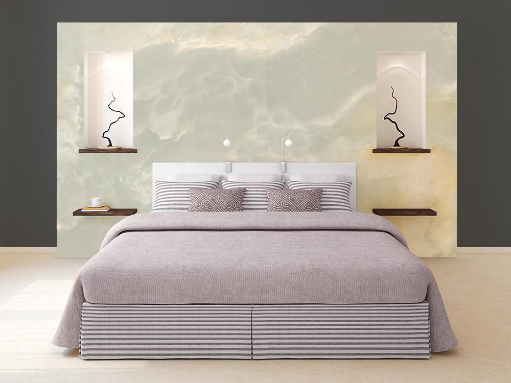 Marmo chiaro cartadaparatipersonalizzata - Crea la tua camera da letto ...