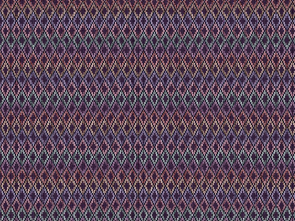 una parete tutta fatta a maglia! carta da parati Knit