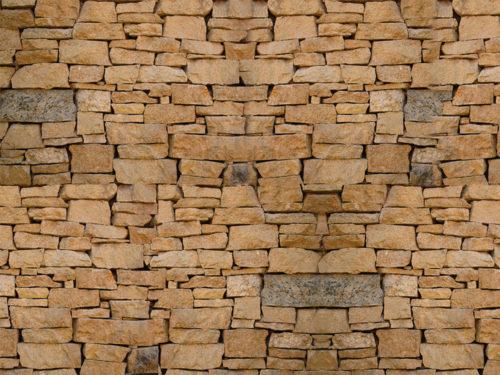 cartadaparatipersonalizzata.com-soggiorno effetto muro rustico
