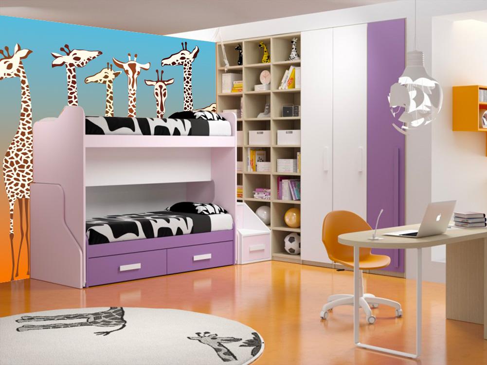 Giraffe per la camera dei bambini - Camera di bambini ...