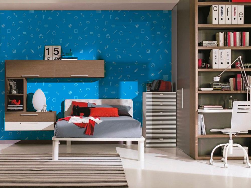 Simboli orienteering a tutta parete - Crea la tua camera da letto ...